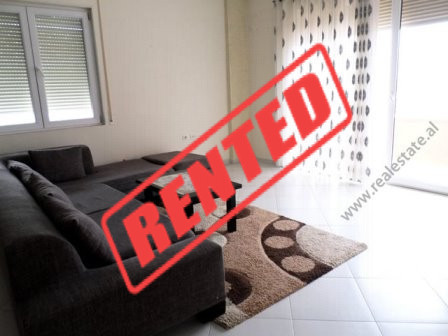 Two bedroom apartment for rent close to Botanic Garden in Tirana.  It is situated on the 4-th floo