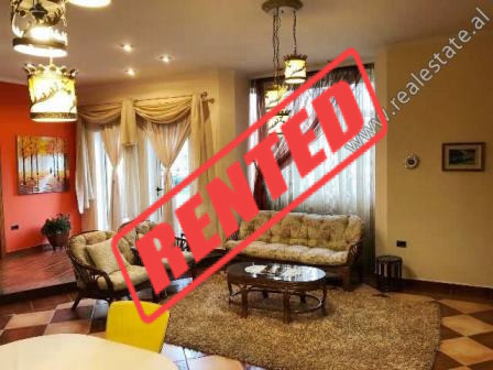 Two bedroom apartment for rent in Isuf Elezi Street in Tirana.  It is situated on the 2-nd floor o