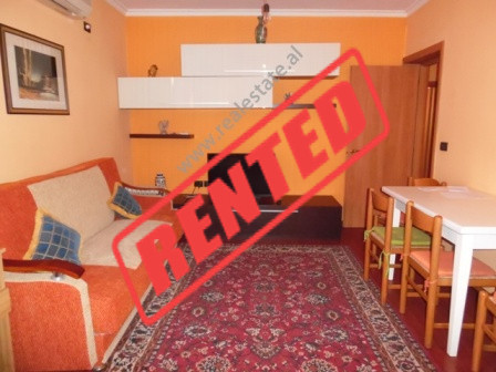 One bedroom apartment for rent in Fortuzi street in Tirana.  The apartment is situated on the 4th