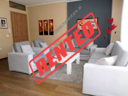 Two bedroom apartment for rent in Hasan Alla Street in Tirana.  It is situated on the 3-rd floor o