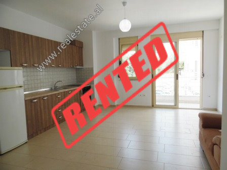 One bedroom apartment for rent in Eduard Mano Street in Tirana.  It is located on the 2nd floor of