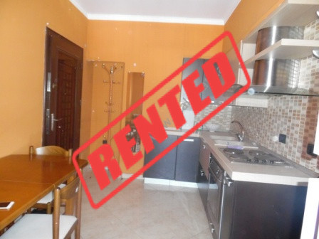 One bedroom apartment for rent in Frederik Shiroka street in Tirana.  It is situated on the 7th fl