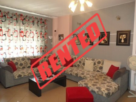 One bedroom apartment for rent in Zef Jubani street in Tirana, Albania.  The apartment is situated