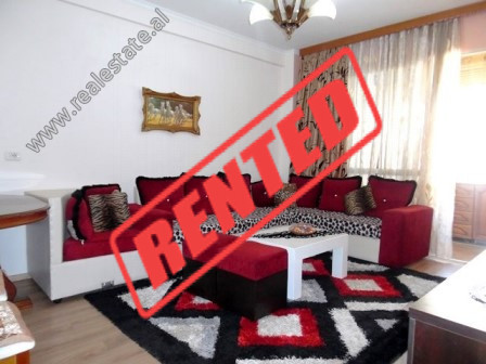 Two bedroom apartment for rent close to the European University in Tirana.  It is located on the 5