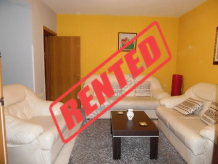 One bedroom apartment in Mine Peza street in Tirana.  The entry is situated on the 3-d floor of an