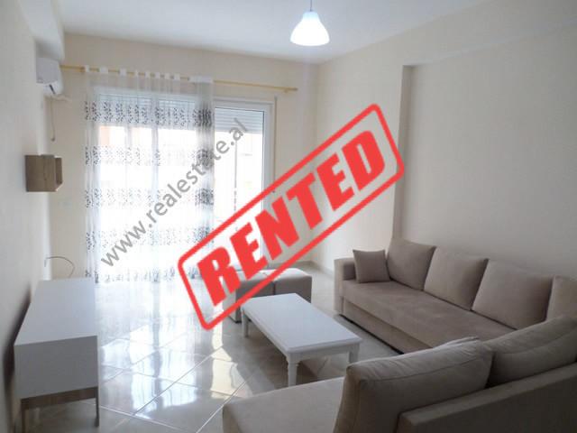 Apartament 2+1 me qera te Liqeni i Thate, ne rrugen e Ullishtes ne Tirane.  Ndodhet ne katin e par