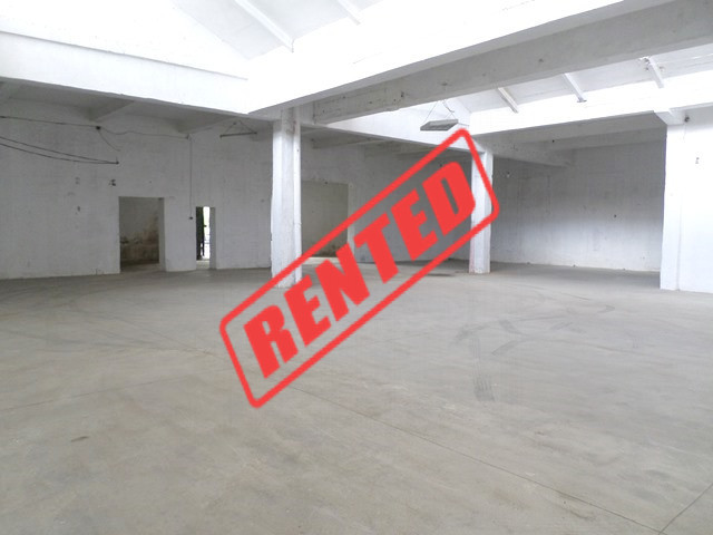 Warehouse for rent in Llazar Xhajanka street in Tirana, Albania.