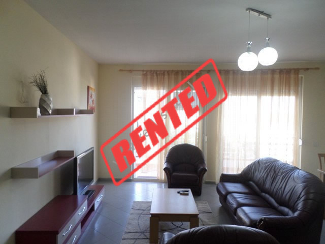 One bedroom apartment for rent in the Kodra e Diellit residence in Tirana, Albania.  The apartment