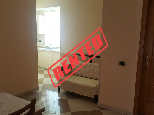 Two bedroom apartment for rent in Shyqyri Berxolli street in Tirana, Albania.  It is located on th