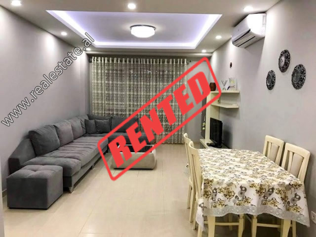 Two bedroom apartment for rent in front of Don Bosko School in Tirana.  It is situated on the firs
