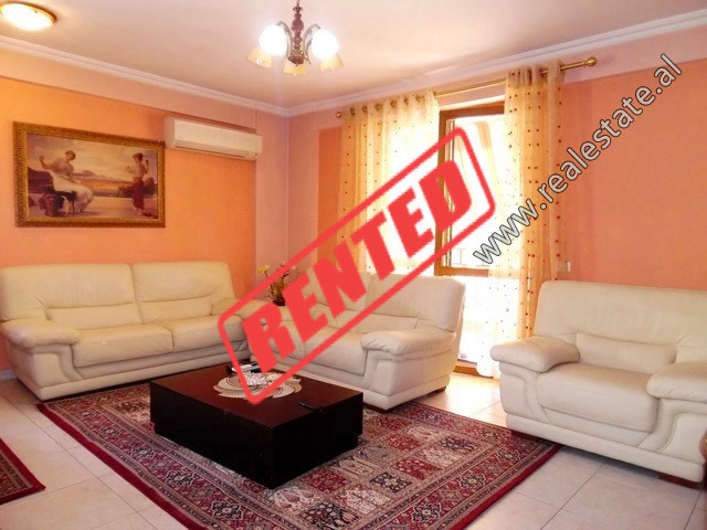 Three bedroom apartment for rent in Skender Luarasi Street in Tirana.