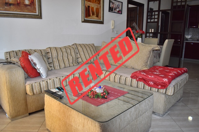 One bedroom apartment for rent in Elbasani street in Tirana, Albania. It is located on the 6-th flo