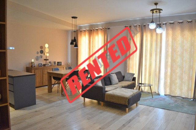 Modern three bedroom apartment for rent in Zihni Cako street in Tirana, Albania. It is located on t