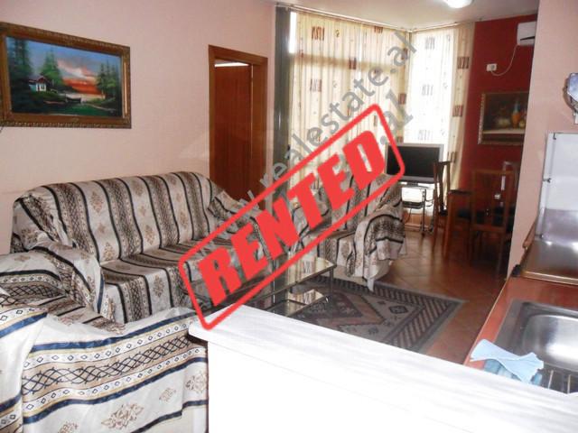 Apartment for rent in Muhamet Gjollesha Street in 21 Dhjetori area in Tirana , Albania. With 112 m2
