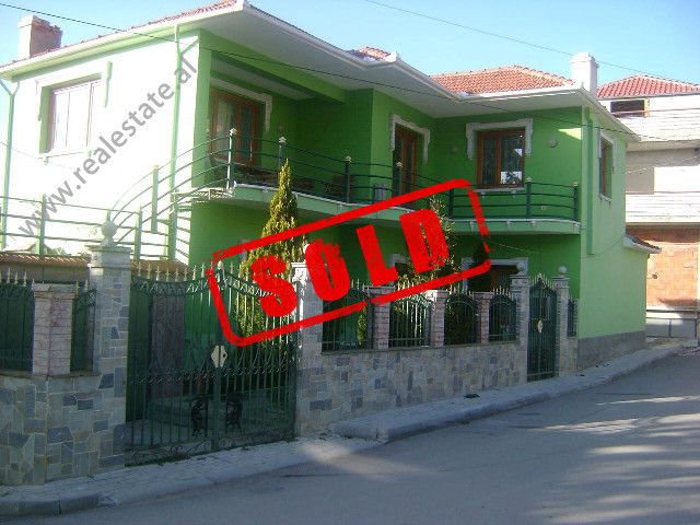 Two storey villa for sale in Korca.