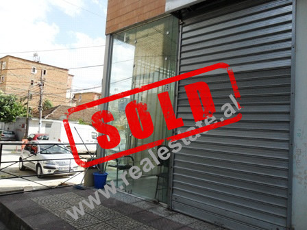 Store space for sale in Frosina Plaku Street in Tirana.  The store is situated on the first floor