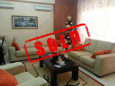 Apartment for sale near Kavaja Street in Tirana.  It is situated on the 2-nd floor of a new comple