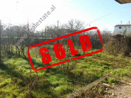 Land for sale in Albanet Street, close to Kamez area in Tirana.  The land has a 700 m2 of space an