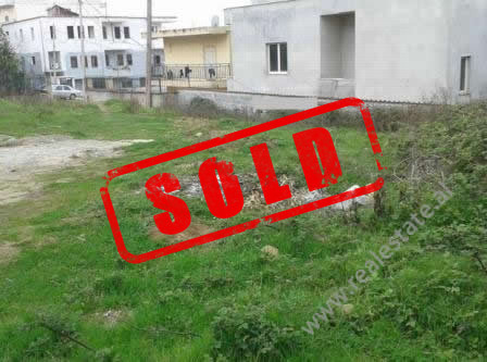 Land for sale near Kokonozeve Street in Tirana.