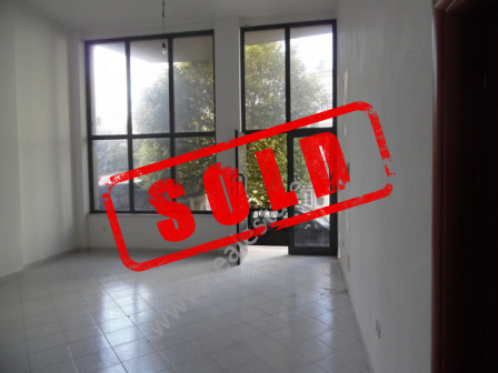 Store space for sale in Mihal Duri Street in Tirana.  It is located on the first floor of a new bu
