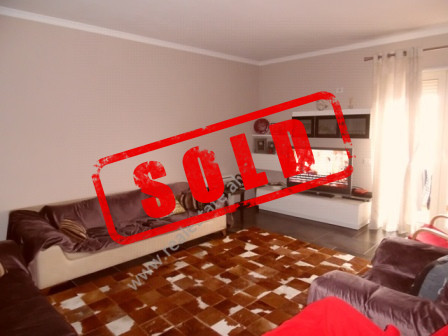 Three bedrooms apartment for sale in Abdyl Matoshi Street in Tirana  The apartment is situated on
