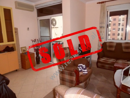 One bedroom apartment for sale in Panorama Street in Tirana.  The apartment is situated on the 8th