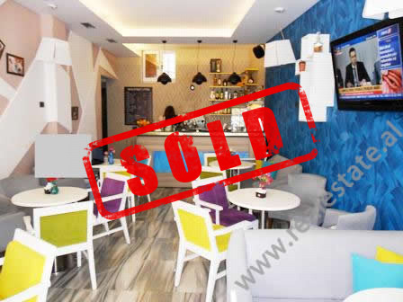 Coffee-bar for sale in Mine Peza Street in Tirana.  It is situated on the ground floor in an old b