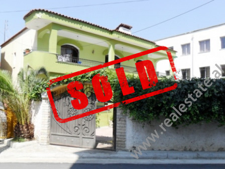 Villa for sale near Dibra Street in Tirana.
