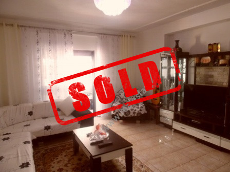 Apartment for sale in Ibrahim Kodra Street in Tirana.  It is situated on the 5th floor of a