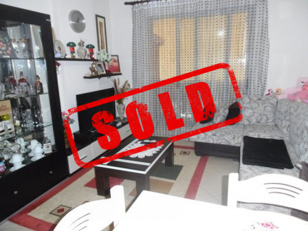 One bedroom apartment for sale near Mine Peza street in Tirana.  The apartment it is situated in 5