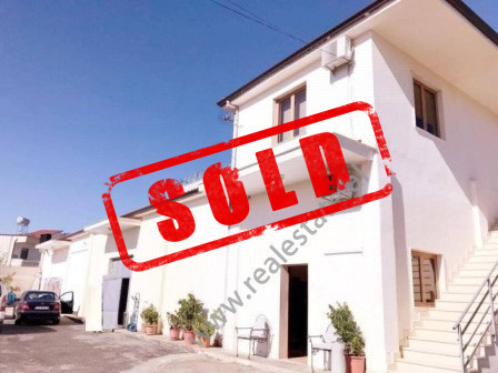 Warehouse for sale in Sauku area in Tirana.  The warehouse is two floor building, the first floor