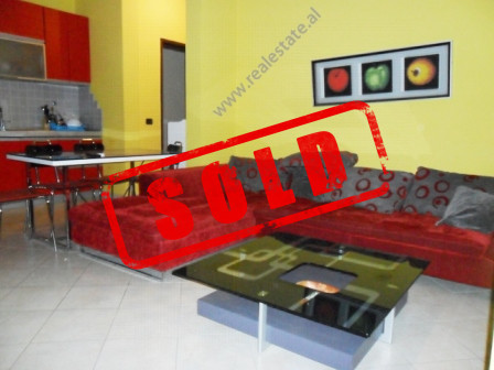 One bedroom apartment for sale close to Kavaja Street in Tirana.  It is situated on the 6-th floor