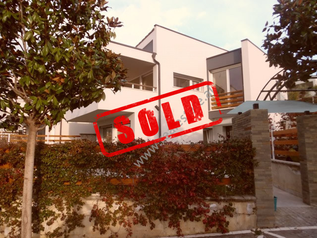 Two storey villa for sale in one of the best villas compound in Tirana.