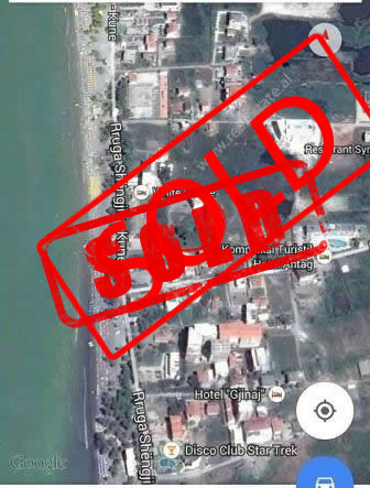 Land for sale near Shengjin – Kune Street in Lezha City.