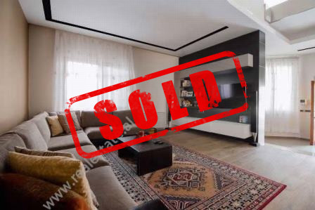 Three storey villa for sale close to Rexhep Jalla Street in Tirana.  It is located in e quiet and
