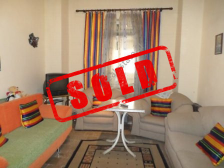 Two bedroom apartment for sale close to Rinia Park in Tirana.  The apartment is situated on the fo