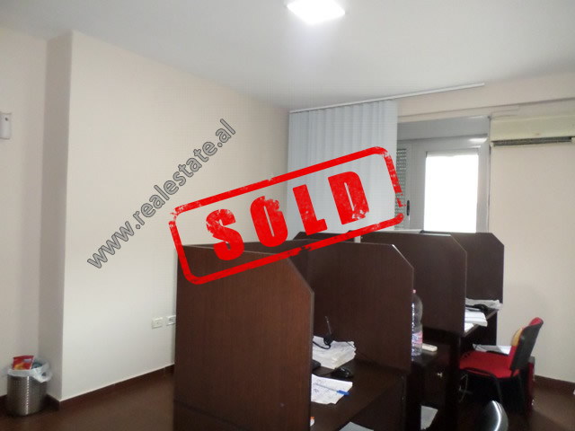 One bedroom apartment for sale in Kavaja street, in Condor Center in Tirana.  It is located on the