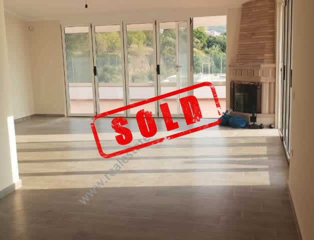 Three bedroom apartment for sale in Uji Ftohte area in Vlora, Albania.  It is located on the 10-th