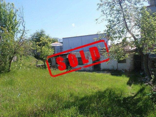 Land for sale in Deja street in Tirana, Albania.