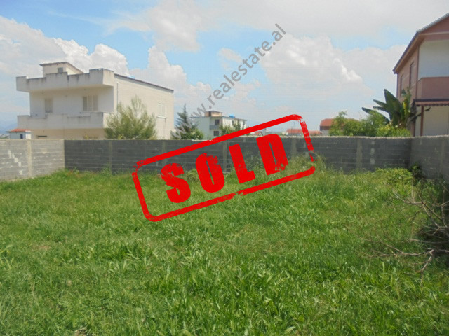 Land for sale in Yrshek area, in Bucia street in Tirana, Albania.  It has a total surface of 255 m