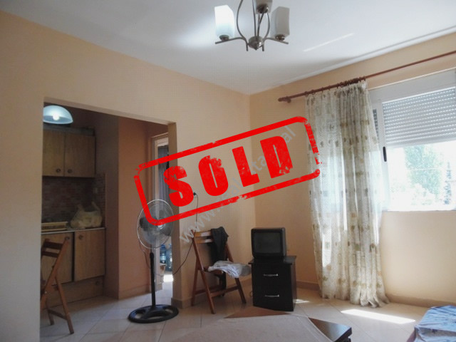 One bedroom apartment for sale near Bajram Curri school in Tirana, Albania.  It is situated on the