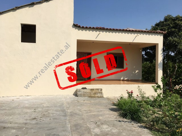 Villa for sale in Thethi street in Tirana, Albania.  The house has a land surface of 1000 m2 of an