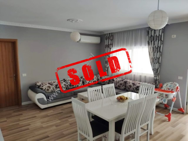 Two bedroom apartment for sale in Idriz Dollaku street in Tirana, Albania.  It is situated on the