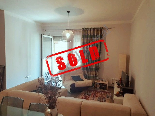 Two bedroom apartment for sale in Don Bosko street in Tirana, Albania. It is located on the 5-th fl