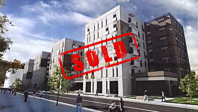 One bedroom apartment for sale very close to Asim Vokshi street in Tirana, Albania. It is located o
