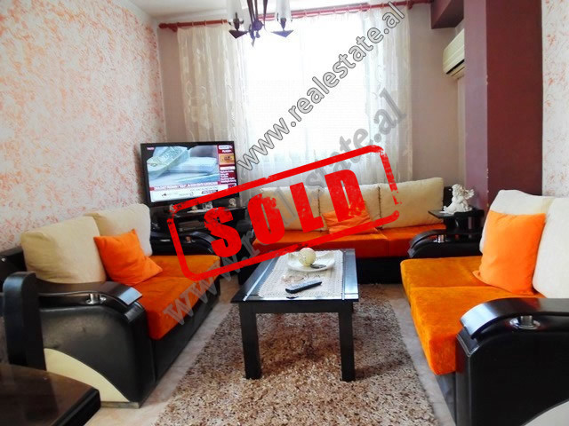One bedroom apartment for sale close to Kongresi Manastirit Street in Tirana.