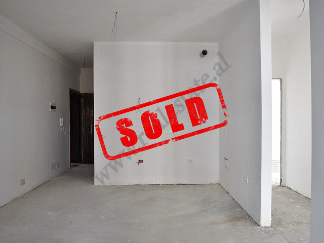 Two bedroom apartment for sale close to Dhora Leka School in Tirana. It is situated on the fourth f