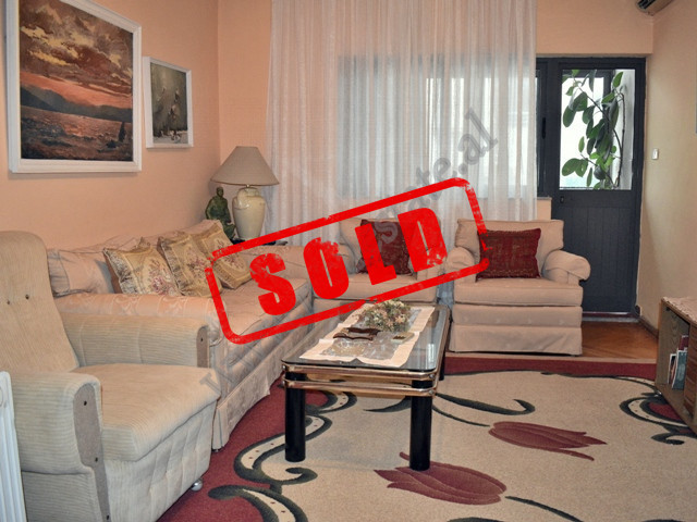 Three bedroom apartment for sale in Janos Hunyadi street in Tirana, Albania.