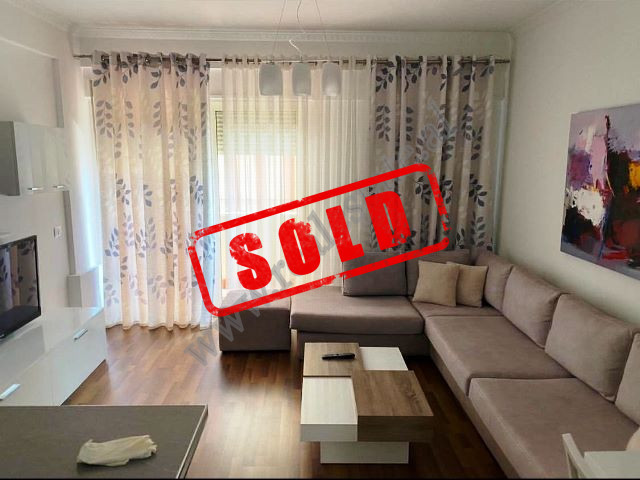 Two bedroom apartment for sale close to Kristal Center in Tirana.  The apartment is situated on th