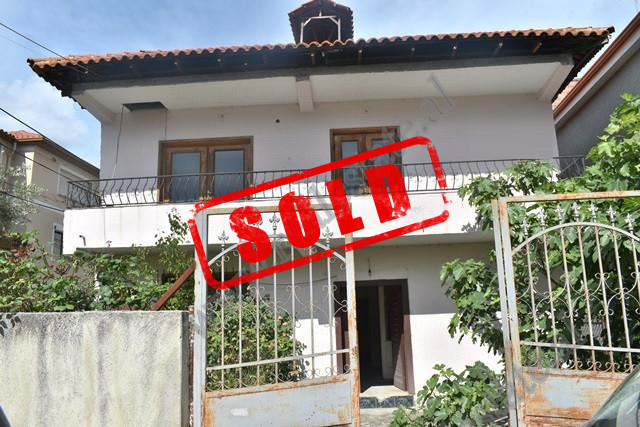 Two storey villa for sale on Stavri Themeli Street in Tirana. 